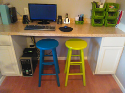 diy bar stool redo
